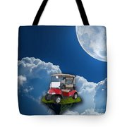Outdoor Golfing Tote Bag