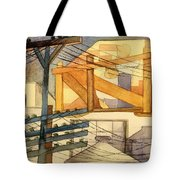 Outdoor Scaffolding  Tote Bag