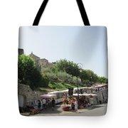 Outdoor Village Market Tote Bag