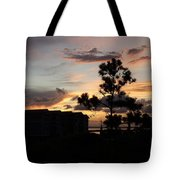 Outer Banks North Carolina Sunset Tote Bag
