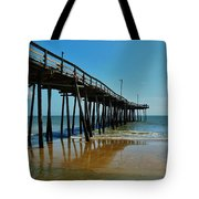 Outer Banks Pier South Nags Head 2 5/22 Tote Bag