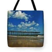 Outer Banks Pier South Nags Head 1 5/22 Tote Bag