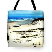 Outer Banks Sand Dunes Beach Ocean Tote Bag