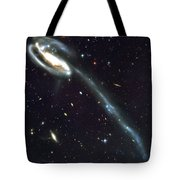 Outer Space Three One Eight Tote Bag