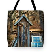 Outhouse - 5 Tote Bag by Paul Ward