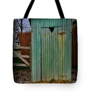 Outhouse - 6 Tote Bag