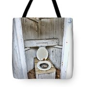 Outhouse A Look Inside Tote Bag