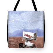 Outlaw Race Car Tote Bag
