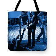 Outlaws #16 Art Blue Tote Bag