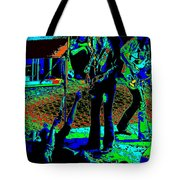 Outlaws #16 Art Psychedelic Tote Bag