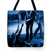 Outlaws #16 Blue Tote Bag