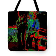 Outlaws #18 Art Psychedelic Tote Bag