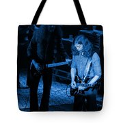 Outlaws #20 Crop 3 Blue Tote Bag