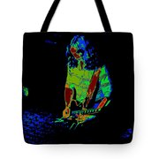 Outlaws #22 Art Psychedelic Tote Bag