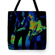 Outlaws #25 Crop 2 Art Psychedelic Tote Bag