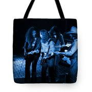 Outlaws #26 Crop 2 Blue Tote Bag