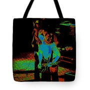 Outlaws #27 Art Psychedelic Tote Bag