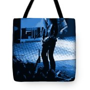 Outlaws #29 Art Blue Tote Bag