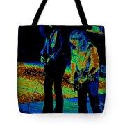 Outlaws #31 Crop 2 Art Cosmic Tote Bag