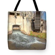 Outlet On The Mill Tote Bag
