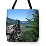 Outlook From The Ridge Tote Bag