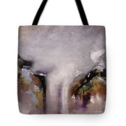 Outpour Modern Contemporary Abstract Original Painting On Canvas Tote Bag
