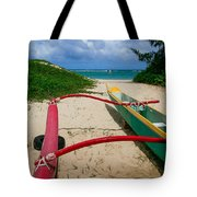 Outrigger Beach Tote Bag