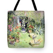 Outside Looking In, 1991 Wc On Paper Tote Bag