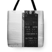 Outside Looking In - Willis Tower Chicago Tote Bag