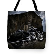 Outside The Barn Tote Bag