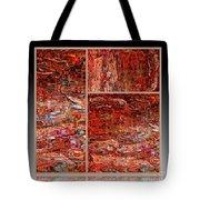 Outside The Box - Abstract Art Tote Bag