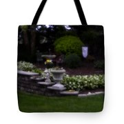 Outside The Garden  Pin-hole Photo Tote Bag