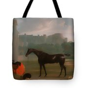 Outside The Guardhouse At Windsor Tote Bag
