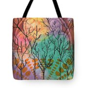 Outside The Horizon Tote Bag