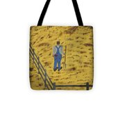Outstanding In His Field Tote Bag
