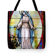 Oval Mary Tote Bag