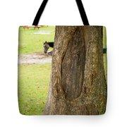 Oval Tree Art Tote Bag