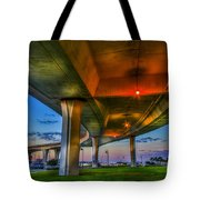 Over And Beyond Tote Bag