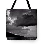 Over Lake Winnipesaukee Tote Bag