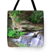 Over Rocks Tote Bag