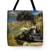 Over The Animas River Tote Bag