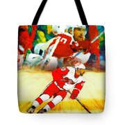Over The Boards Tote Bag