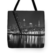 Over The Cuyahoga Tote Bag