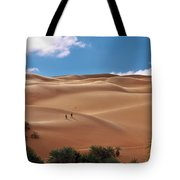 Over The Dunes Tote Bag