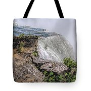 Over The Edge Niagara Falls Tote Bag