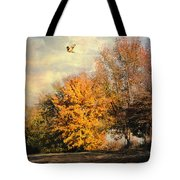 Over The Golden Tree Tote Bag