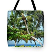 Over The Hedges Tote Bag