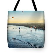 Over The Hudson Tote Bag