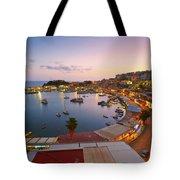Over The Marina Tote Bag