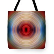 Over The Rainbow Spin Art 10 Tote Bag